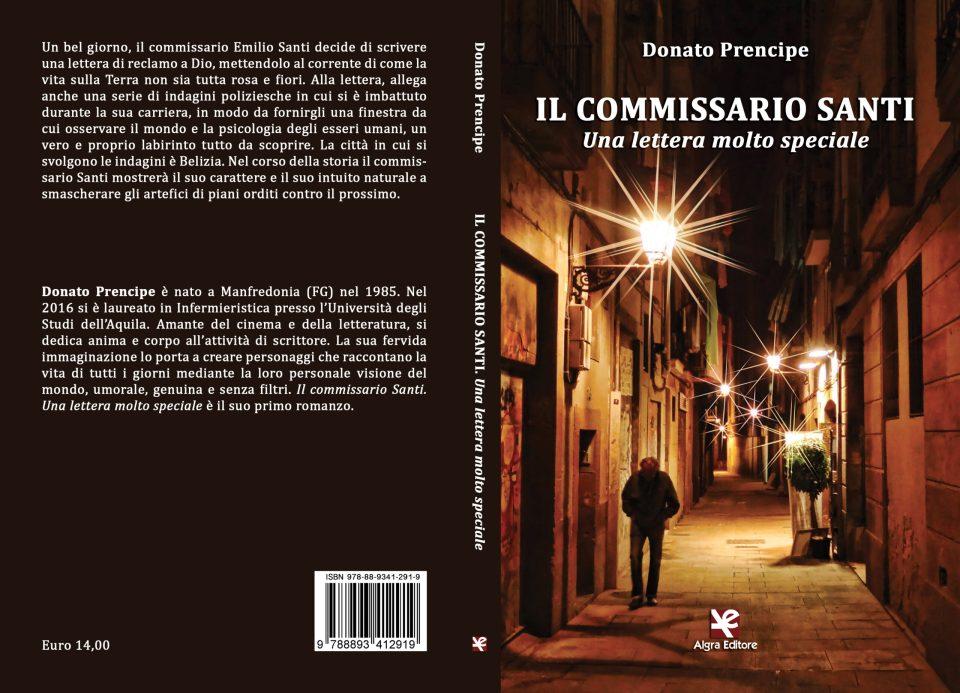 Il commissario Santi. Una lettera molto speciale Book Cover