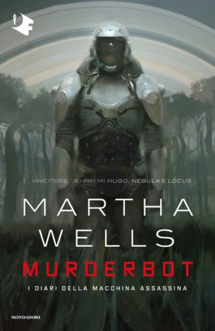 Murderbot Book Cover