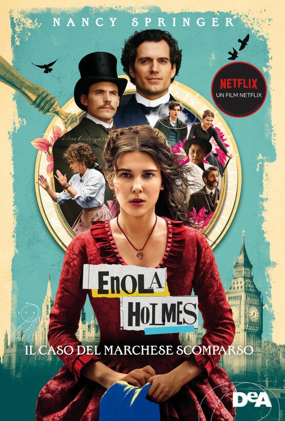 Enola Holmes. il caso del marchese scomparso Book Cover