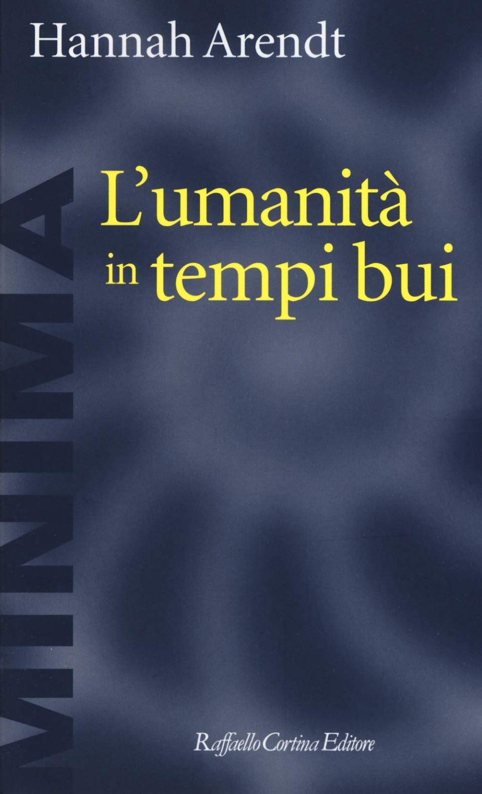 L'umanità in tempi bui Book Cover