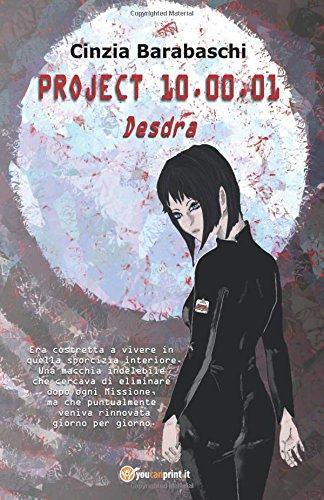 Project 10.00.01 – Desdra Book Cover
