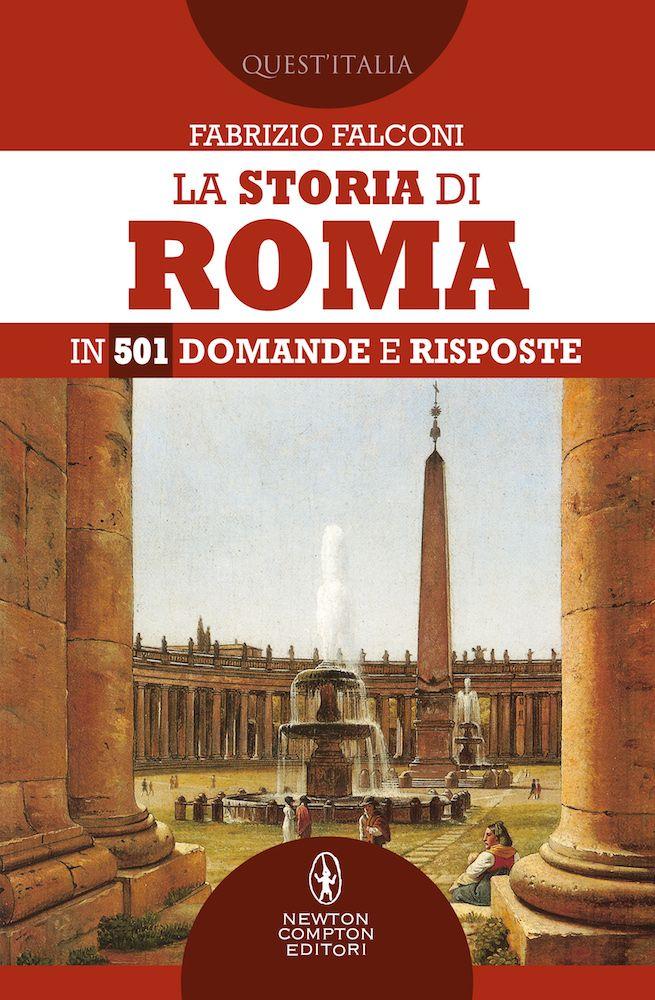 La storia di Roma in 501 domande e risposte Book Cover