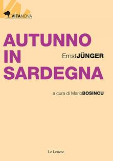 Autunno in Sardegna Book Cover