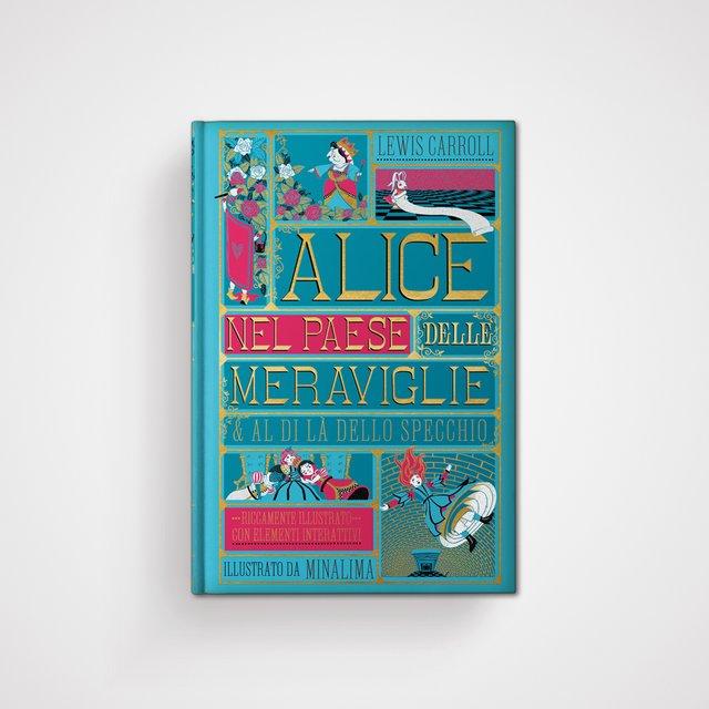 Alice nel paese delle meraviglie - Al di là dello specchio Book Cover