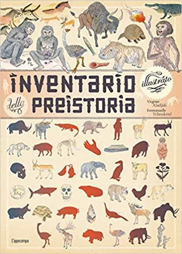 Inventario illustrato della preistoria Book Cover