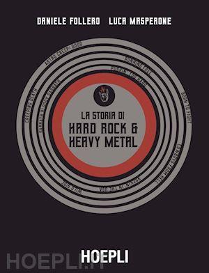 La storia di Hard Rock & Heavy Metal Book Cover