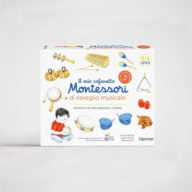 Il mio cofanetto Montessori di risveglio musicale Book Cover