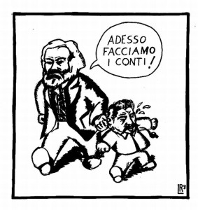 Marx Vs Stalin