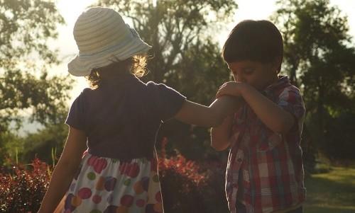 come spiegare l'amore ai bambini
