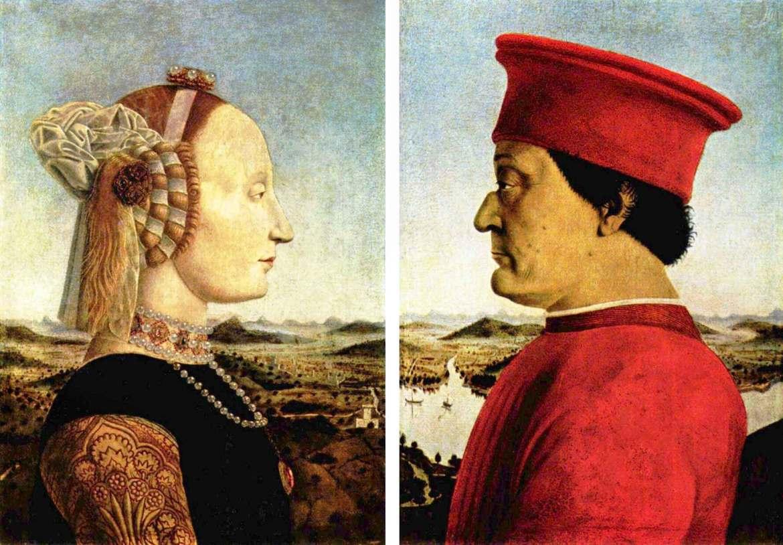 Piero,_Double_portrait_of_the_Dukes_of_Urbino_bassa