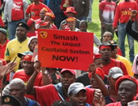 First measures of intimidation against independent trade unionism and the socialist left