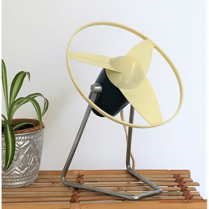 ventilateur de table calor vintage n 941 made in france annees 50