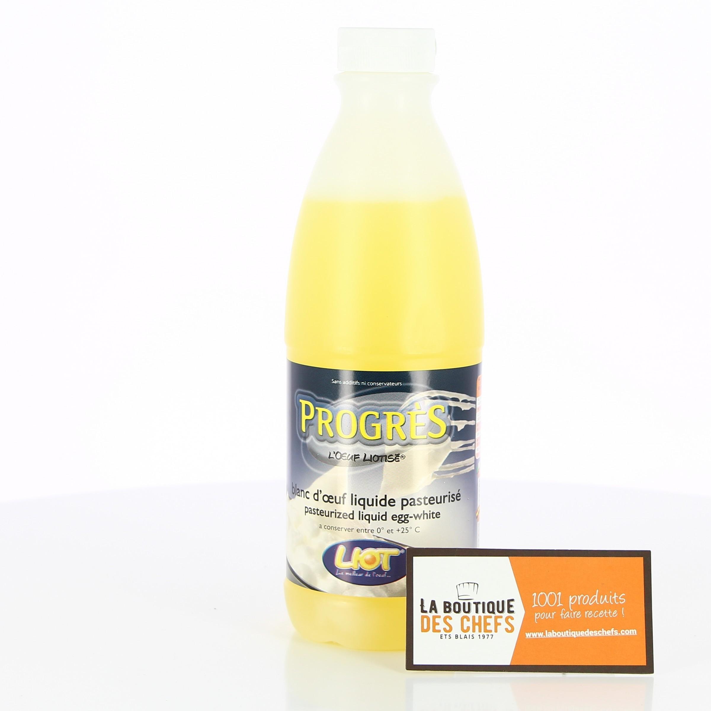 blanc d œuf liquide pasteurise liot progres 1 kg