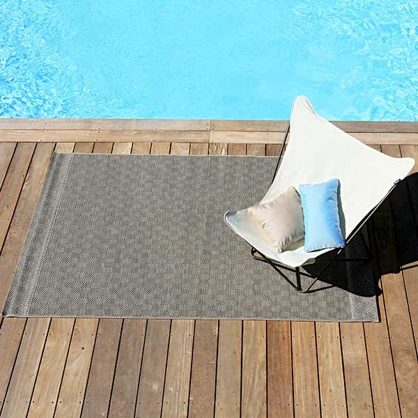 tapis de jardin outdoor motif grande