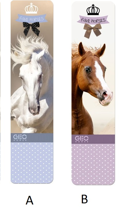 Signet Ou Marque Page Geo Cheval