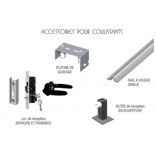 Portail Aluminium Coulissant 3mx1 6m