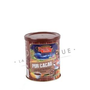 elot chocolat en poudre intense