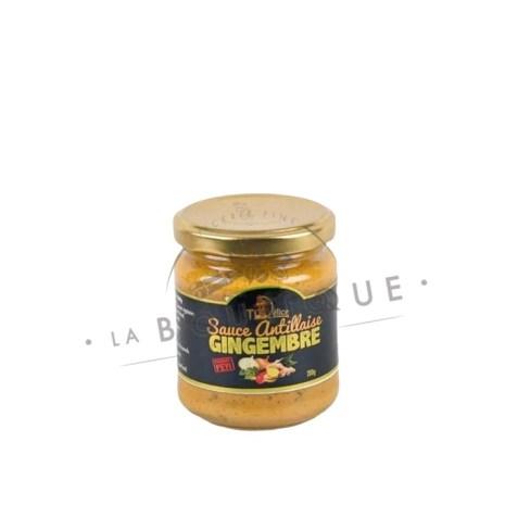 sauce antillaise gingembre