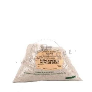 Farine complète patate douce
