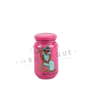 grand pot sucre rose menthe