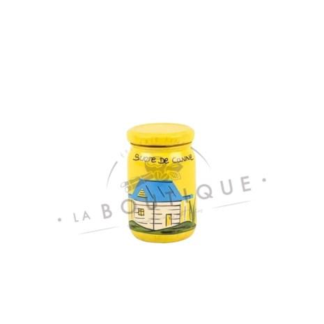 petit pot sucre jaune