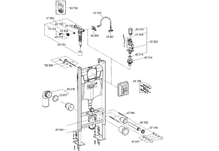 Grohe 38768002 Bati Support Rapid Sl Project