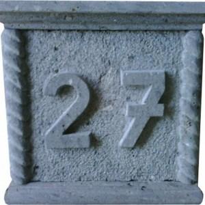 Número 27 Tallado