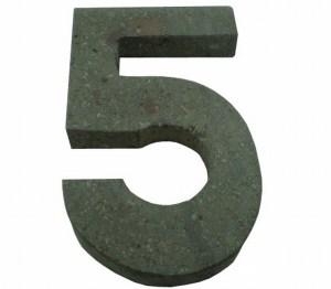 Número 5 suelto