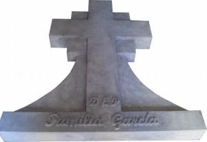 Lapida Cruz en Piedra