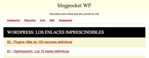 blogpocket wp