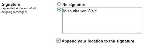 gmail signature location