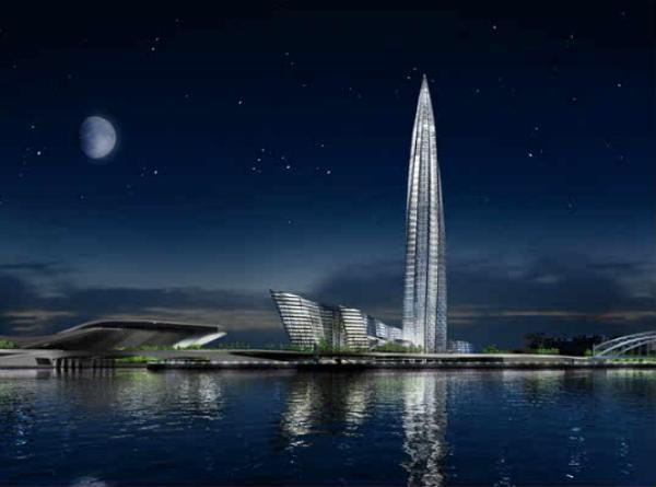 en poco tiempo dar comienzo la construccin del que ser el edificio ms alto de europa la okhta tower de san petersburgo rusia