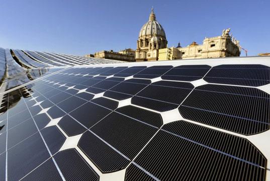 Vaticano convierte mayor planta europea energía solar