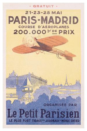 Centenario ecológico raid aéreo París Madrid