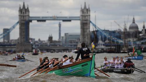 Great River Race Londres