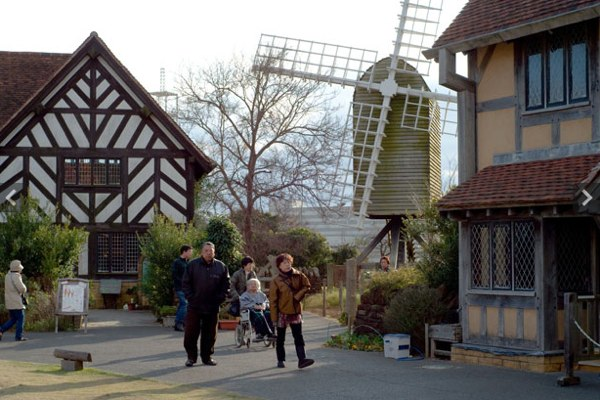 Shakespeare theme park in Japan