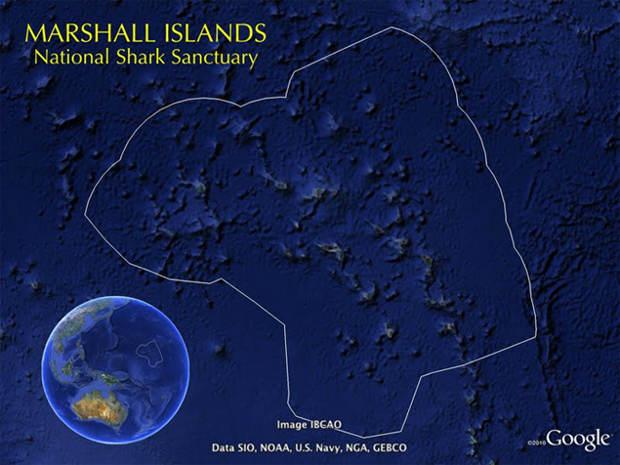 Mayor santuario mundo tiburones Islas Marshall