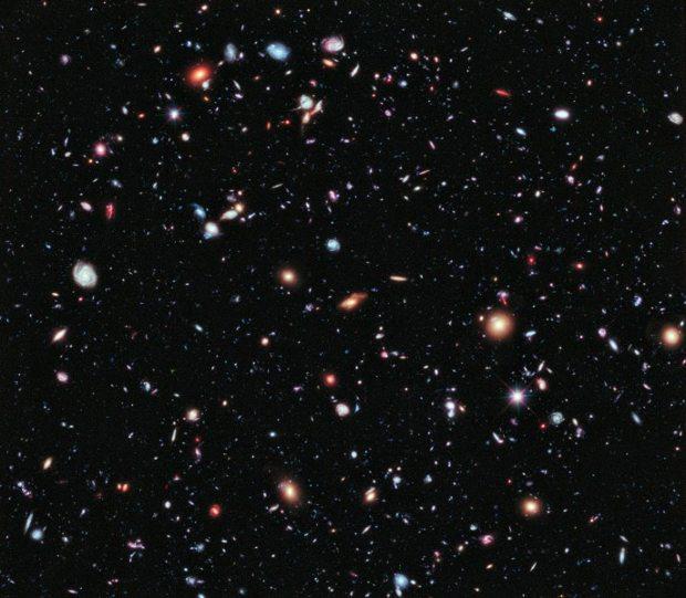 XDF imagen impresionante Universo