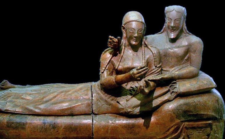 Etruscos origen