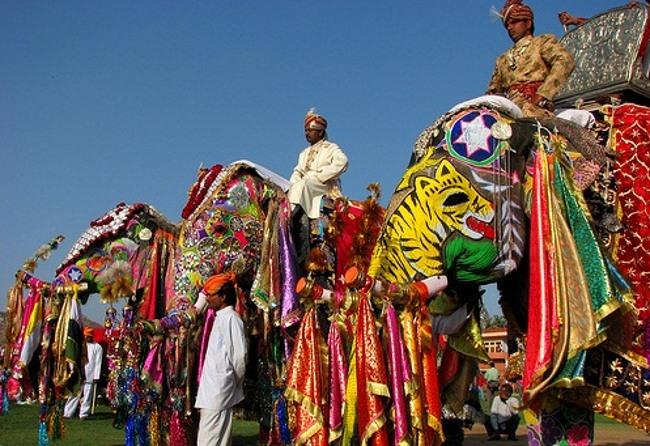 Hastimangala, el Festival del Elefante de Jaipur