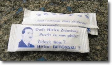 Hitler en sobres de azúcar croata