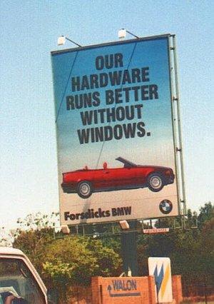 BMW vs. Windows