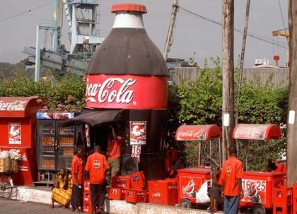 Coca-Cola más barata que el agua