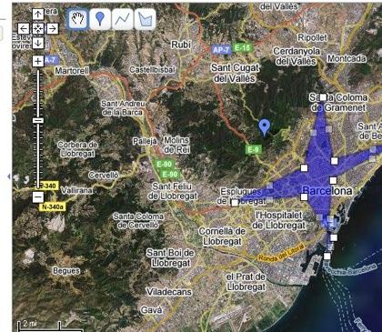 Guarda tus mapas en Google Maps