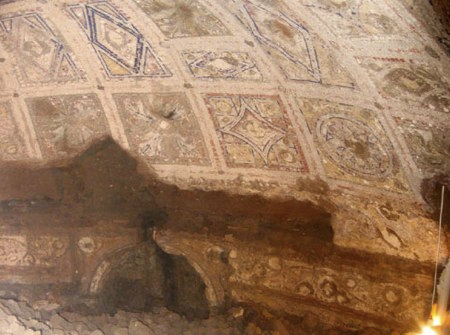 La gruta donde Rómulo y Remo fueron amamantados