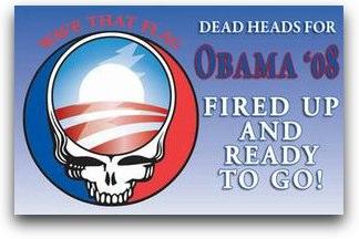 The Grateful Dead, también con Obama
