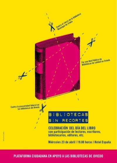 Día del Libro en Oviedo: bibliotecas sin recortes