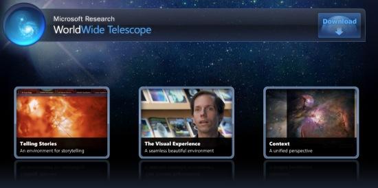 Microsoft World Wide Telescope