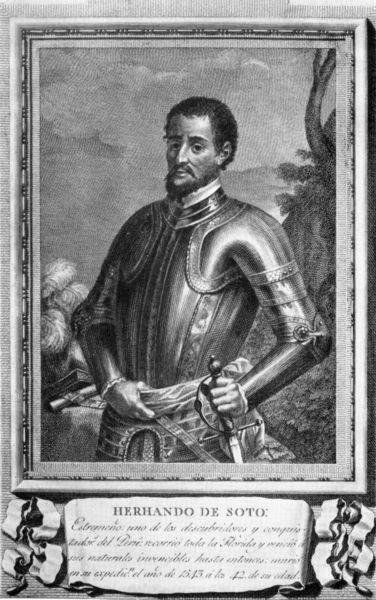 Hace 469 años: Hernando de Soto reclamaba Florida