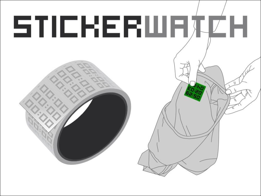 Reloj adhesivo de Timex